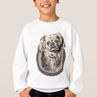 Pekingese 001 sweatshirt