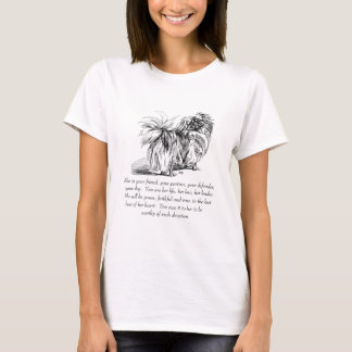 Pekingese Andenken - FRAU T-Shirt