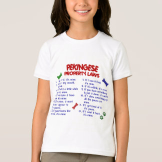 PEKINGESE Eigentums-Gesetze 2 T-Shirt
