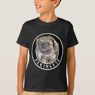Pekingese Hund 002 T-Shirt