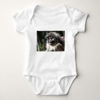 Pekingese Hund Baby Strampler