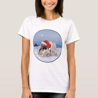 Pekingese Hund Sankt T-Shirt