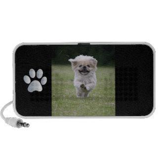 Pekingese Hundegekritzel-Lautsprecher, niedliches  Mp3 Speaker