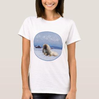 Pekingese Hundewinter-Lied T-Shirt