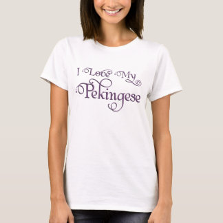 Pekingese Liebe T-Shirt