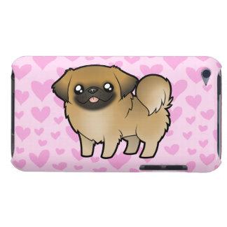 Pekingese Liebe (Welpe geschnitten) iPod Touch Hülle