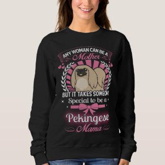 Pekingese Mutter Sweatshirt