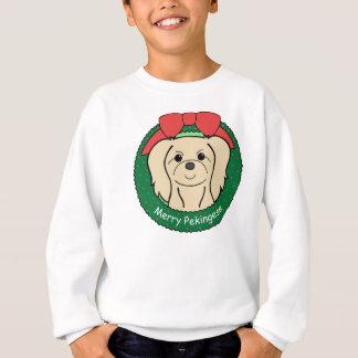 Pekingese Weihnachten Sweatshirt