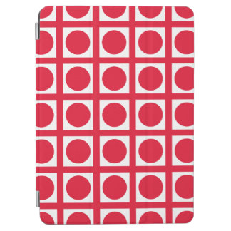 Pelargonie-elegante Gitter-Punkte iPad Air Cover