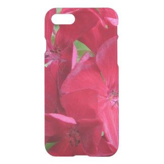 Pelargonie-Pflanzen-rotes Blumen iPhone 8/7 Hülle