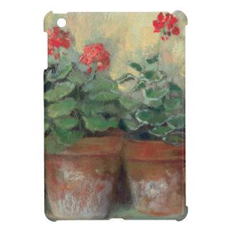 Pelargonien in den Töpfen iPad Mini Hülle