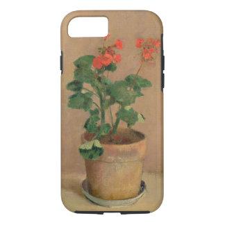 Pelargonien in einem Topf, c.1905 (Öl auf iPhone 8/7 Hülle