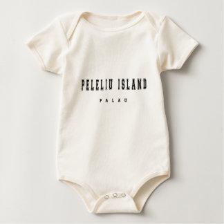 Peleliu Insel Palau Baby Strampler
