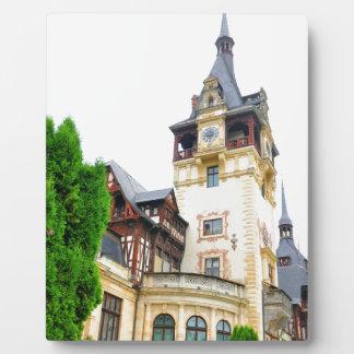 Peles Schloss in Sinaia, Rumänien Fotoplatte