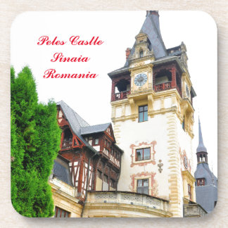 Peles Schloss in Sinaia, Rumänien Getränkeuntersetzer