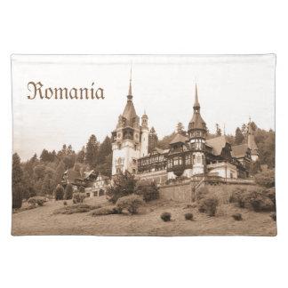 Peles Schloss in Sinaia, Rumänien Stofftischset