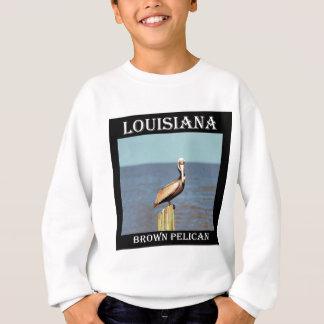 Pelikan 4.jpg Louisianas Brown Sweatshirt