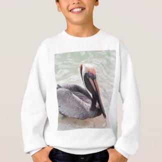 Pelikan am Strand Sweatshirt