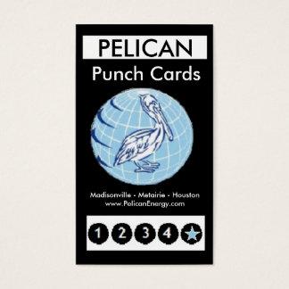 Pelikan-Energie-Lochkarten 20 Visitenkarte