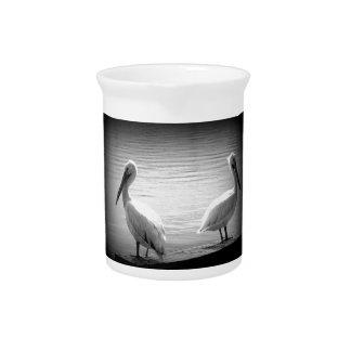 Pelikan-Freunde 2 Getränke Pitcher