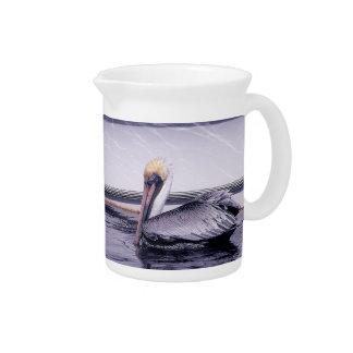 Pelikan-Gleiten Getränke Pitcher