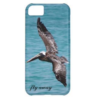 Pelikan im Flug iPhone 5C Hülle
