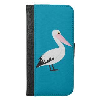 Pelikan iPhone 6/6s Plus Geldbeutel Hülle