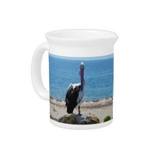 Pelikan mit dem Blick, Getränke Pitcher