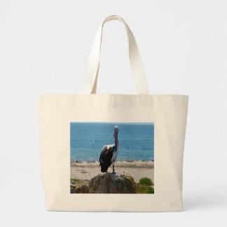 Pelikan mit dem Blick, Jumbo Stoffbeutel