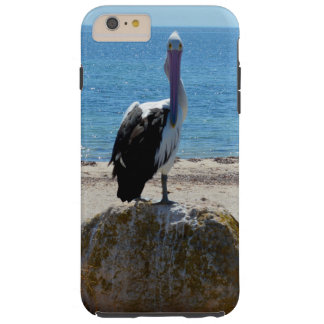 Pelikan mit dem Blick, Tough iPhone 6 Plus Hülle