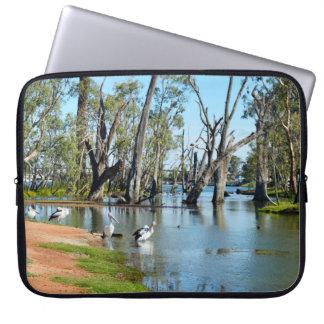 Pelikan-Oase Berri Riverland Südaustralien, Laptop Sleeve