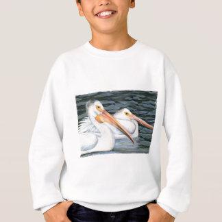 Pelikan-Paare Sweatshirt