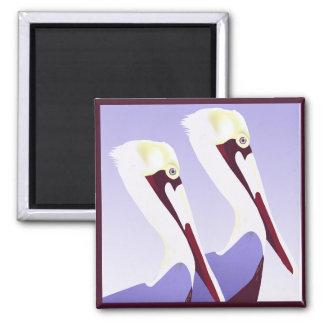 Pelikan-Pelikan-Magnet Kühlschrankmagnete