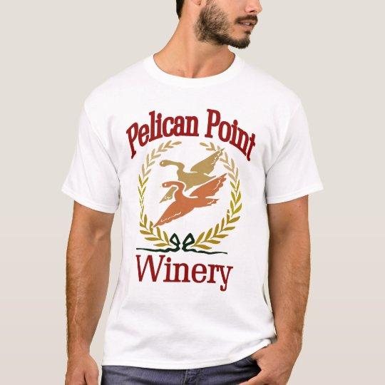 Pelikan-Punkt-Wein T-Shirt