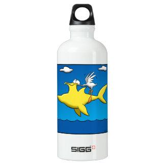 Pelikan-Schmerz Wasserflasche