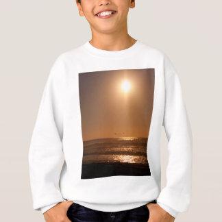 Pelikan-Sonnenuntergang Horsfall Strand, Oregon Sweatshirt