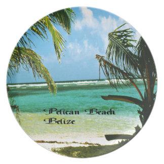 Pelikan-Strand Belize Teller