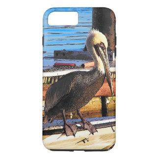 Pelikan-Vogel-Tier-Tierboot iPhone 7 Fall iPhone 8 Plus/7 Plus Hülle