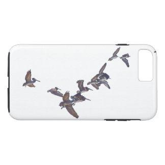 Pelikan-Vogel-Tier-Tierfliegen iPhone 7 Fall iPhone 8 Plus/7 Plus Hülle