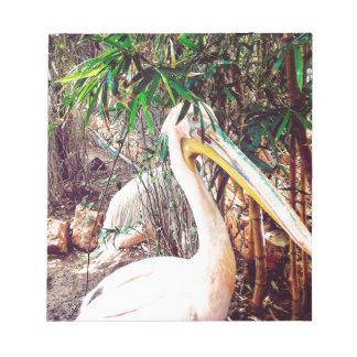 Pelikane Notizblock