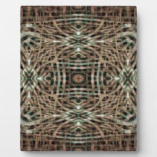 Pelz-Beschaffenheits-abstraktes Muster Fotoplatte