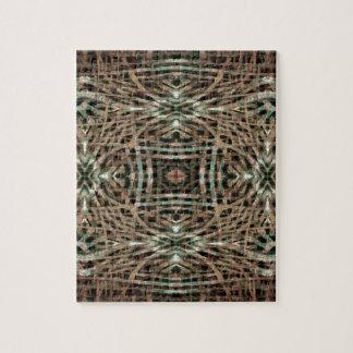 Pelz-Beschaffenheits-abstraktes Muster Puzzle