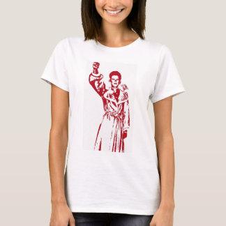 Pelz-Mantel-Glamour T-Shirt