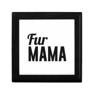 Pelz-Mutter Geschenkbox