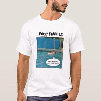"""PelzFunnies """"Schoss-Hund? """" T-Shirt"""