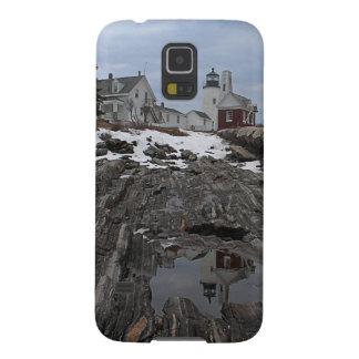 Pemaquid Punkt im Winter Hülle Fürs Galaxy S5