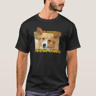 Pembroke-Walisercorgi-Foto-Kleid T-Shirt