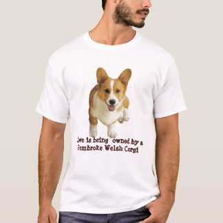 Pembroke-Walisercorgi-glücklicher UnisexT - Shirt
