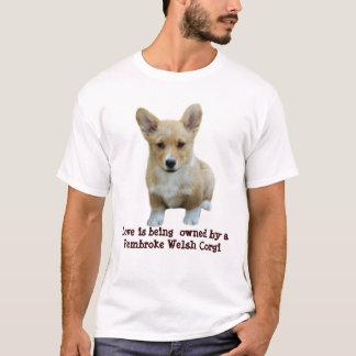 Pembroke-Walisercorgi-niedlicher UnisexT - Shirt