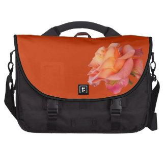 Pendler-Tasche orange Gelb der Rose rosarote Laptop Tasche